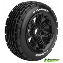 Tires & Wheels B-ORBIT LS Buggy Front (24mm Hex) (2)