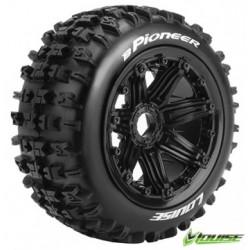 Tires & Wheels B-PIONEER LS Buggy Rear (24mm Hex) (2)