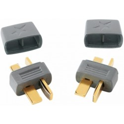 2 styk Deans stik / T-plug / Start plug T-Connector Han / Male