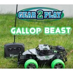Gallup Beast - Flot og billig 10 km/t fjernstyret bil til de små