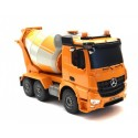 Fjernstyret cementblander lastbil m. roterbar blander