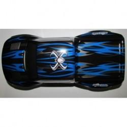 body shell, blå