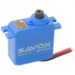 Savox Servo SW-0250MG Waterproof Digital Metal Gear Micro Servo SW-0250MG