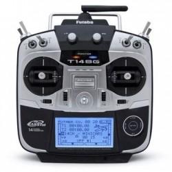 Futaba T14SG Radio 2.4Ghz m. R7008SB modtager