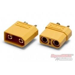 Connector XT90 4.5mm pair, 1 par