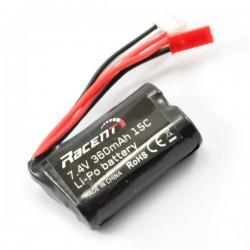 7,4V Lipo Batteri 360MAH (JST PLUG)