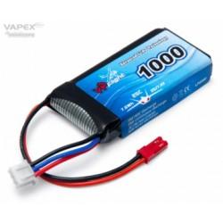 Li-Po Battery 2S 7,4V 1000mAh 25C JST-RCY (BEC)