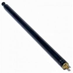 Antenne 8mm bred, 3mm skrue