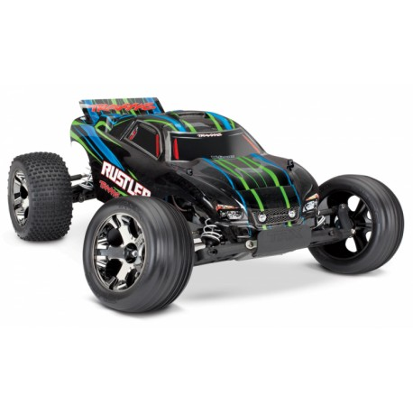 Rustler VXL 2WD 1/10 RTR TQi TSM w/o battery & charger