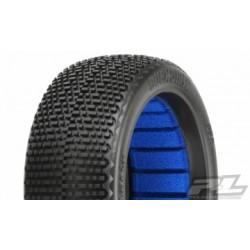 PL9062-002 Tires Buck Shot X2 (Medium) 1/8 Buggy (2)