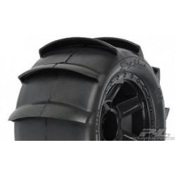 """PL1179-11 Sling Shot Paddle Tires on 3.8"""" Wheels (2)"""