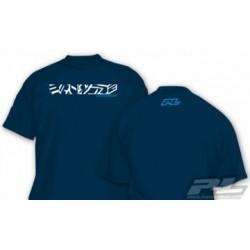 PL9809-05 Proline Chopped Navy T-Shirt (XXL)