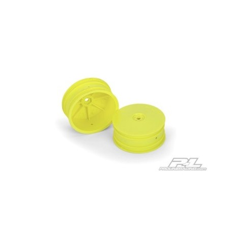 """PL2741-02 Velocity 2.2"""" Front Yellow Wheels (2) for B44.1"""