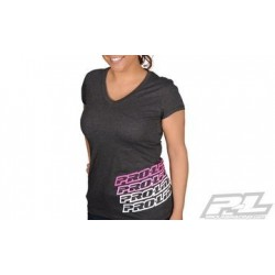 PL9998-05 Proline Echo Heather Girl T-Shirt Grey (XXL)