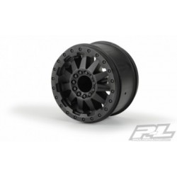 "PL2743-03 F-11 2.8"" Wheels Black (2)"