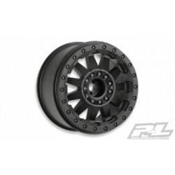 """PL2744-03 F-11 2.8"""" Wheels Black For Stampede/Rustler Rear (2)"""