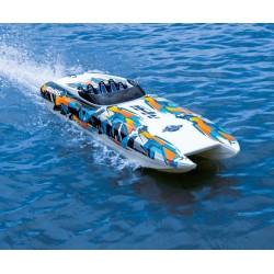 Traxxas DCB M41 Widebody Catamaran BL TQi TSM