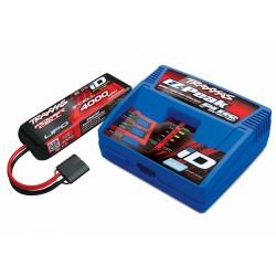 Traxxas lader og batteri kombopakke EZ-Peak Plus 4A + 3S 4000mAh 2994G