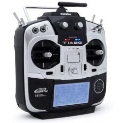 Futaba T14SG Radio 2.4Ghz med 2 x R7008SB modtagere