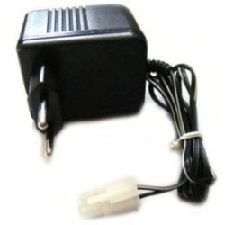 Lader til 9,6V batteri NiMh og NiCd