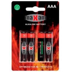 AA batterier 1,5V - Maxell - 4 styk
