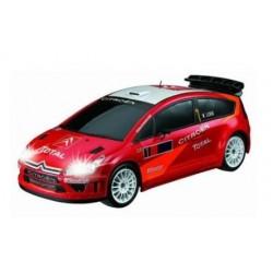 Auldey Citroen C4 WRC 1:28 - lille fjernstyret bil