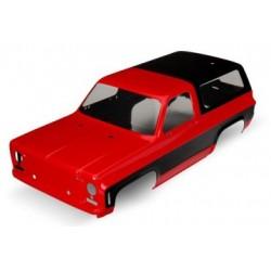 Traxxas 8130A Body Chevy Blazer Red