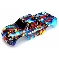 Traxxas 3648 Body Stampede Rock´n´Roll Painted