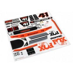 Traxxas 8515 Decals Unlimited Desert Racer Fox Edition