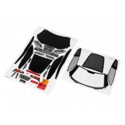 Traxxas 8387 Decal Sheets Chevrolet Corvette Z06