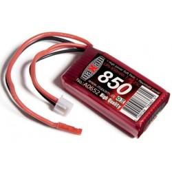 LiPo 7.4V 850mAh JST stik 25C Maxam