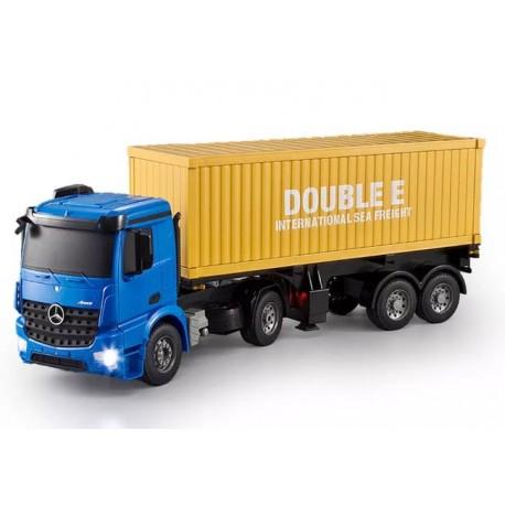 Fjernstyret Mercedes-Benz lastbil med trailer m. container - Arocs