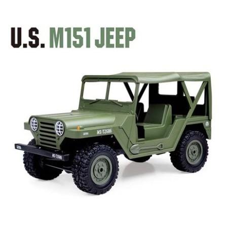 U.S. Army M151 Jeep - Flot amerikansk fjernstyret jeep!