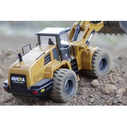 Fjernstyret læssemaskine / excavator