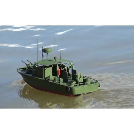 Fjernstyret patruljemotorbåd vietnamkrig stil