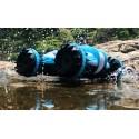 Fed amfibisk 4WD fjernstyret bil - kører på vand!