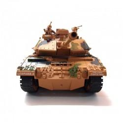 Stor detaljeret fjernstyret Leopard-2 tank