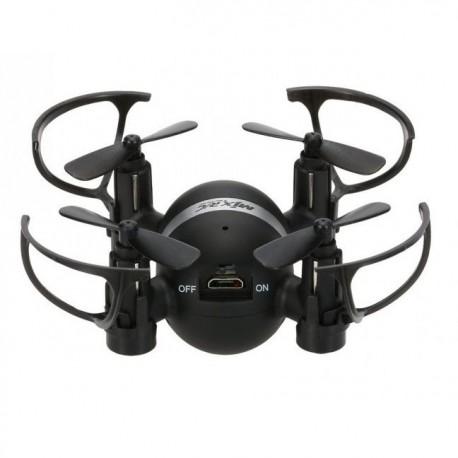 Mini quadcopter drone m.kraftigt lys til aften/nat