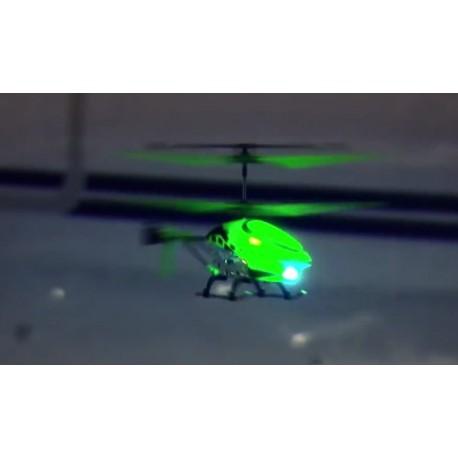 Selvlysende fjernstyret helikopter - Klar Til Brug (RTF)