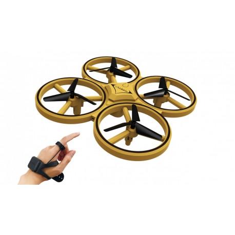 Handskestyret quadrocopter drone, m. IR kollisionsdetect