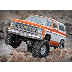 Traxxas TRX-4 Chevy Blazer K5 red orange
