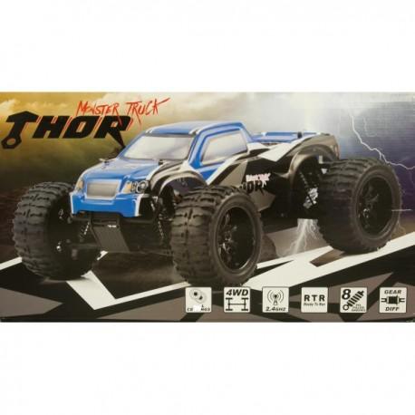 Thor 1/10 stor robust fjernstyret offroad 4x4 monstertruck