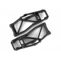 Suspension Arms Lower FR Black (Pair) WideMaxx