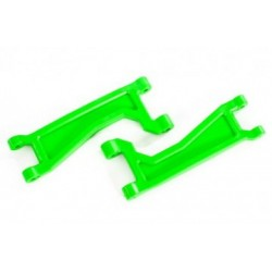 Suspension Arms Upper FR Green (Pair) WideMaxx