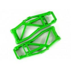 Suspension Arms Lower FR Green (Pair) WideMaxx