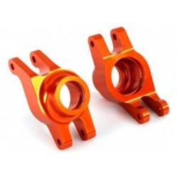 Stub Axle Carriers Rear Alu Orange (Pair) Maxx
