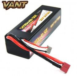3S 5200mAh 50c LiPo batteri, Tplug