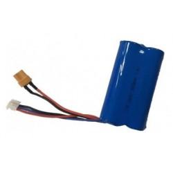 LiPo-batteri 7,4V 2000mAh - Huina 1582,1583,1585 XT30 stik