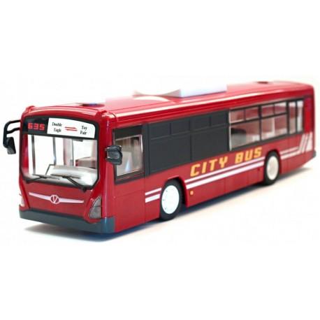 Fjernstyret bus med automatiske døre