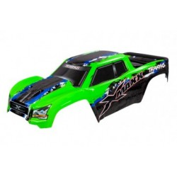 Traxxas 7811G Body X-Maxx Green-X